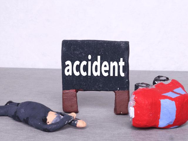 アクシデント、交通事故、接触事故