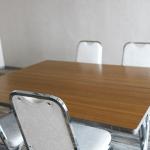 面接室、応接室、会議室、テーブルと椅子